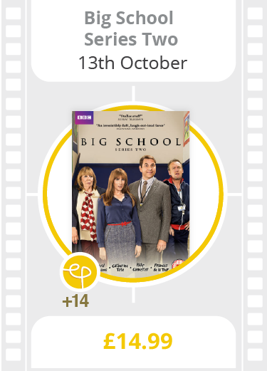Big School: Series 2 on DVD