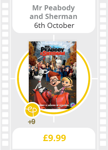 Mr Peabody & Sherman on DVD