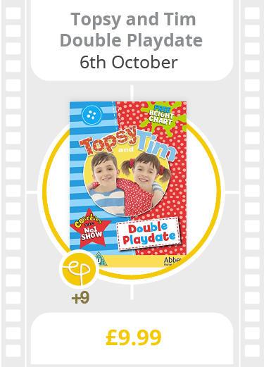 Topsy & Tim: Double Playdate on DVD