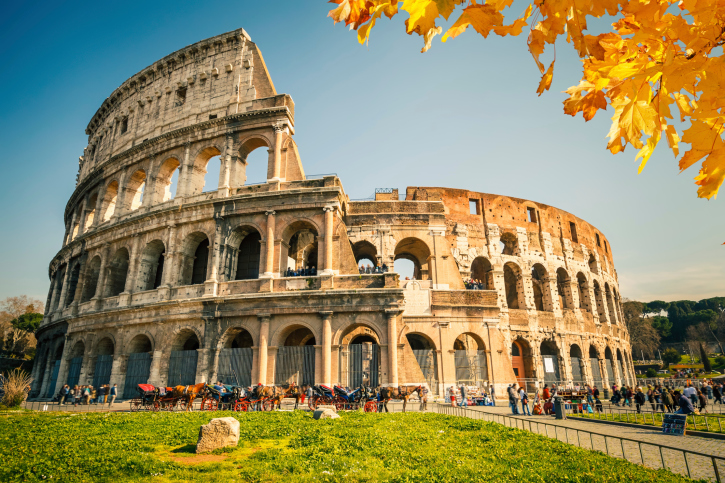 The Colloseum in Autumn