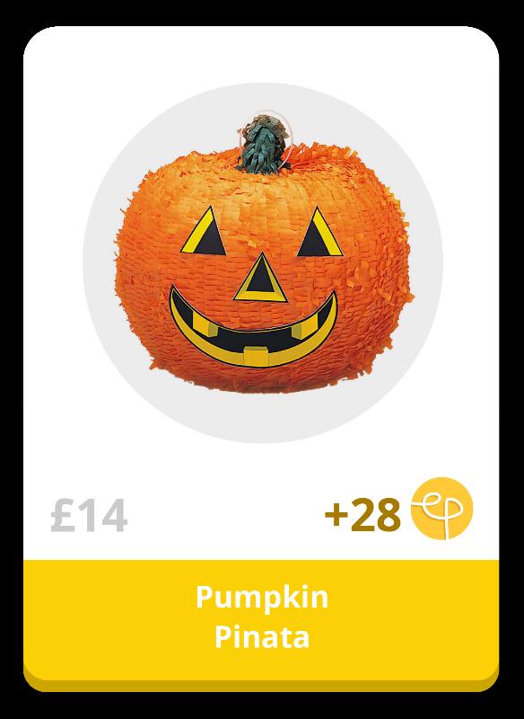 Halloween Pumpkin Pinata Decoration