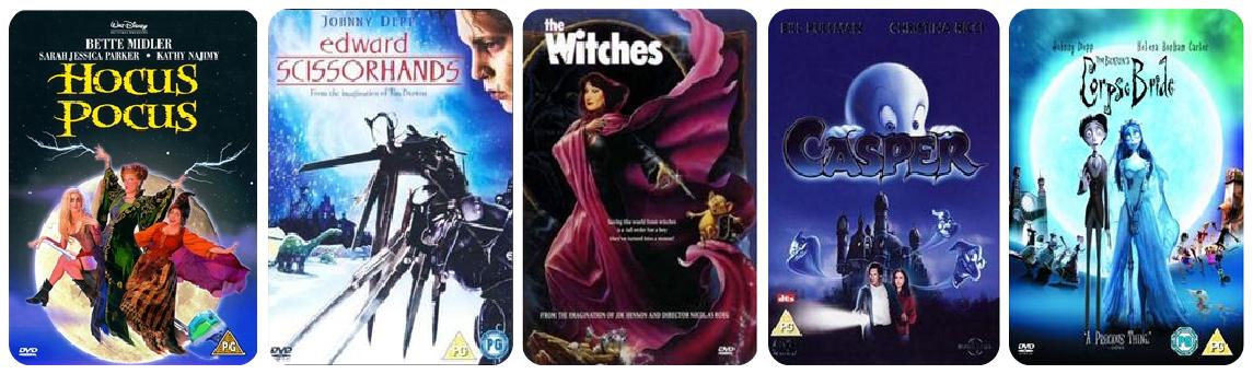 Halloween DVDs