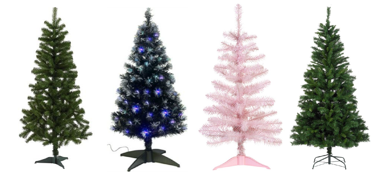 artificial christmas trees - Type Of Christmas Trees