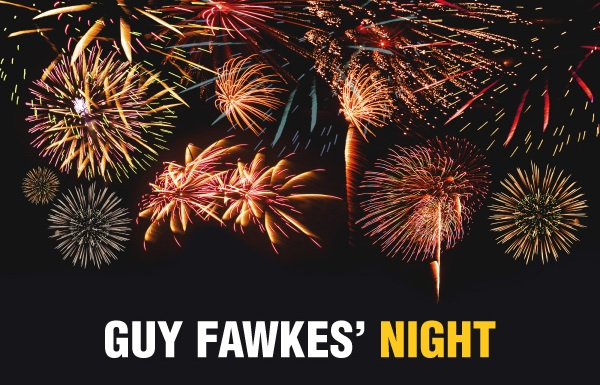 Fireworks on Guy Fawkes' Night