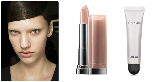How to wear nude lips
