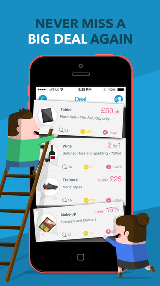 bigDL app: discounts and vouchers on the high street and online